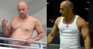 Vin Diesel Shows Off His 'Dad Bod' In Miami