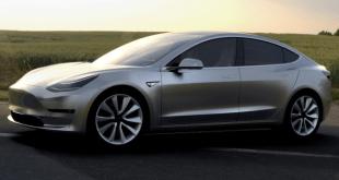 Tesla Has Received 325,000 Preorders for Tesla Model 3