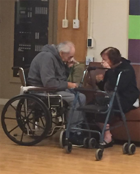 Surrey - Couple of 62 Years Forced to Separate Into Different Nursing Home
