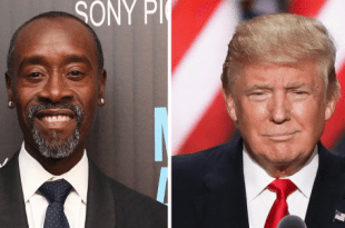 """Don Cheadle Slams Donald Trump for Dwyane Wade Tweets: """"You are truly a POS"""""""
