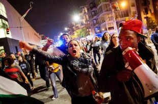 Anti-Trump Protests: 1 Shot After 'Confrontation' in Portland; Marchers Hit NYC, L.A.