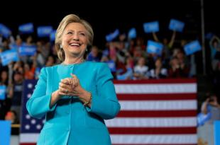 Hillary Clinton Gets Boost From FBI as Tight White House Race Hits Final Day