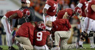 Bo Scarbrough Suffered Broken Leg Bone in National Championship Game
