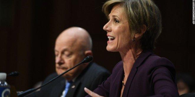 Sally Yates Testifies: 'We Believed Gen. Flynn Was Compromised'