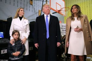 Trump Says He Groped Melania in Public, Ivanka Looks Down on Him, in Newly Released Recordings