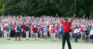 Tiger Woods Wins First Tournament Since 2013