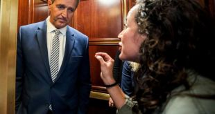 Jeff Flake Was Confronted In An Elevator By Sexual Assault Survivors After Saying He'd Vote For Kavanaugh