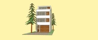 _townhouse model YELLOW