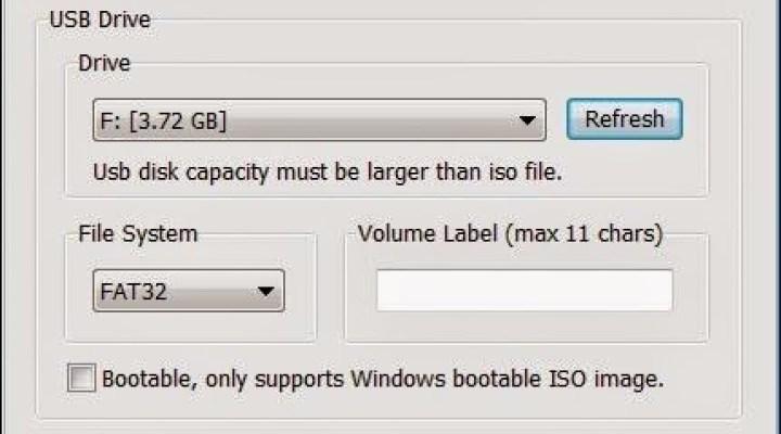 Installer le système d'exploitation Windows 10, 8, 7 depuis une clé USB avec ISOtoUSB