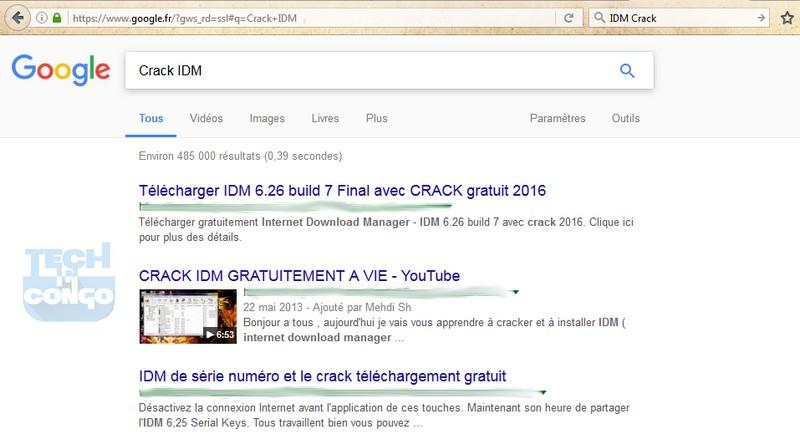 IDM Crack Comment trouver la clé d'activation d'un logiciel payant gratuitement