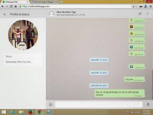 whatsapp web smachizo 300x225 Comment utiliser WhatsApp sur PC avec un navigateur