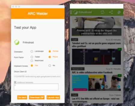 preuve APK dans google chrome 400x317 Comment lancer des apps android dans Google Chrome avec ARC Welder
