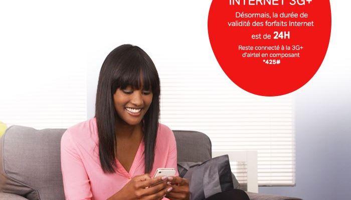 Les Nouveaux forfaits Airtel Internet,SMS, Appels de 10U et 5U