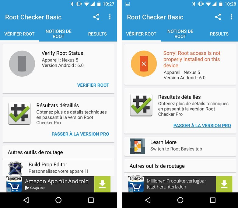 Verifier root checker Comment derooter android – 2 Méthodes