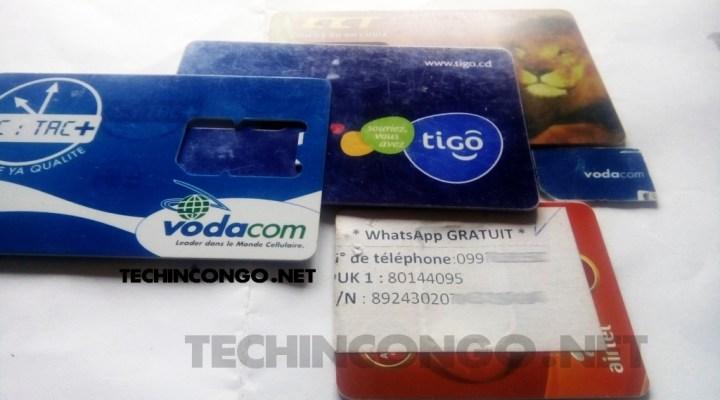 Airtel Vodacom Tigo Orange Comment verifier son numéro de téléphone : Africell, Airtel, Orange, Tigo et Vodacom RDC