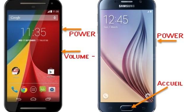 Capturer ecran android Comment capturer/enregistrer l'écran de son smartphone (Android, iOS, Windows Phone, BB10)