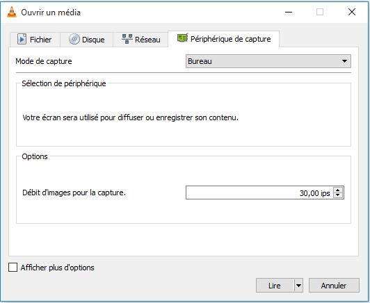 Ouvrir un peripherique de capture Comment filmer son écran de PC gratuitement avec VLC Media Player