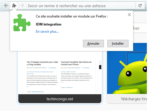 Installation IDM Integration