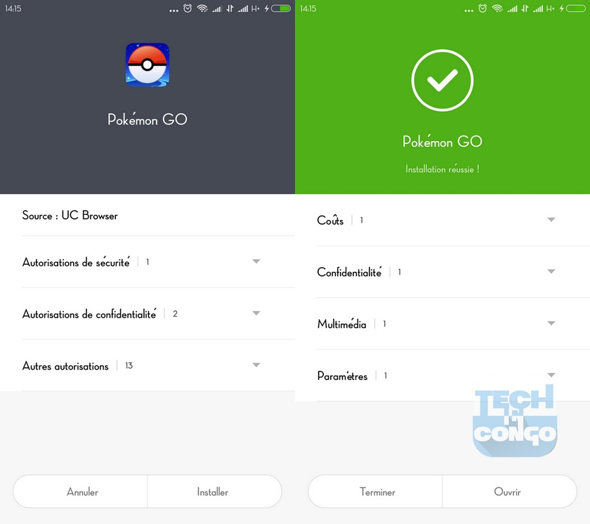 Installation Pokemon Go Comment télécharger Pokemon Go pour Android