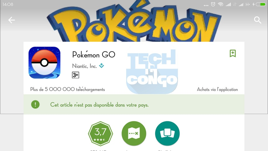 Pokemon GO Play Store Comment télécharger Pokemon Go pour Android