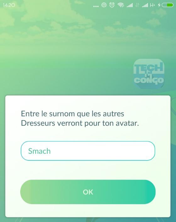 Surnom Pokemon GO