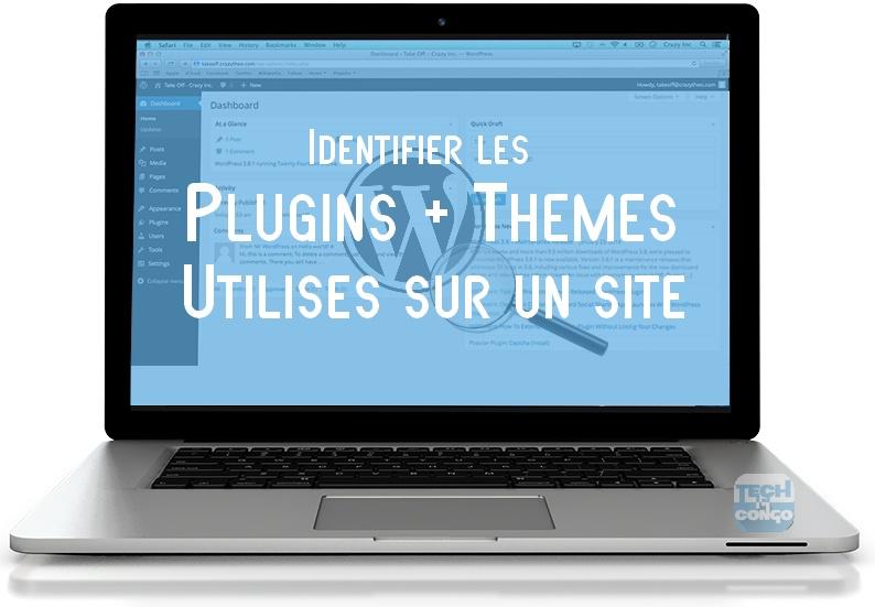 Wordpress Tableau de bord Comment connaitre les plugins et thème d'un site sous WordPress