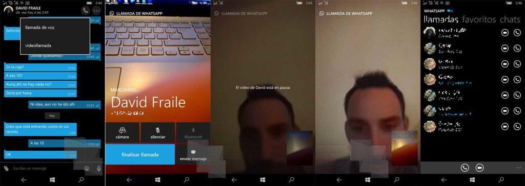 WhatsApp appels videos sur WindowsPhone 1024x364 Comment activer et passer des appels vidéo sur WhatsApp