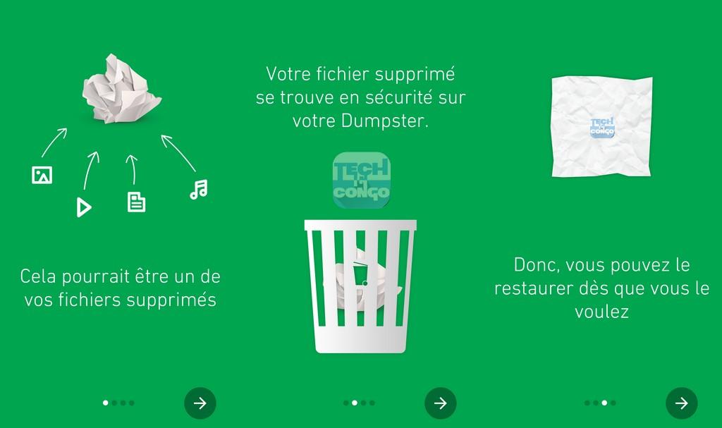 Dumpster 1024x607 Dumpster : Une corbeille pour Android