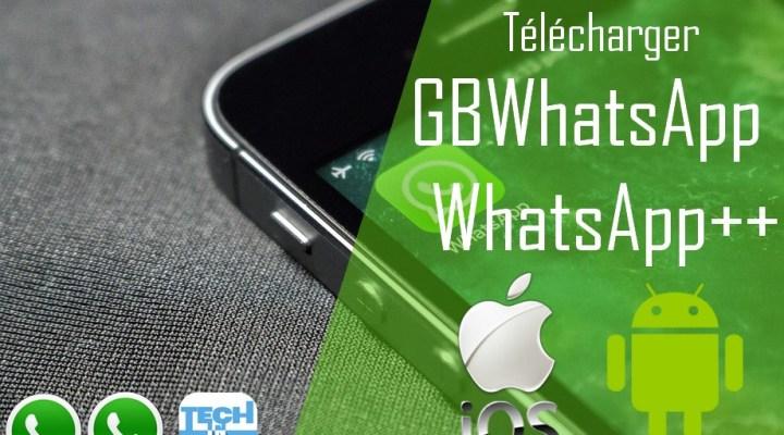 Télécharger GBWhatsApp 6.40 et WhatsApp plus 6.40 pour Android