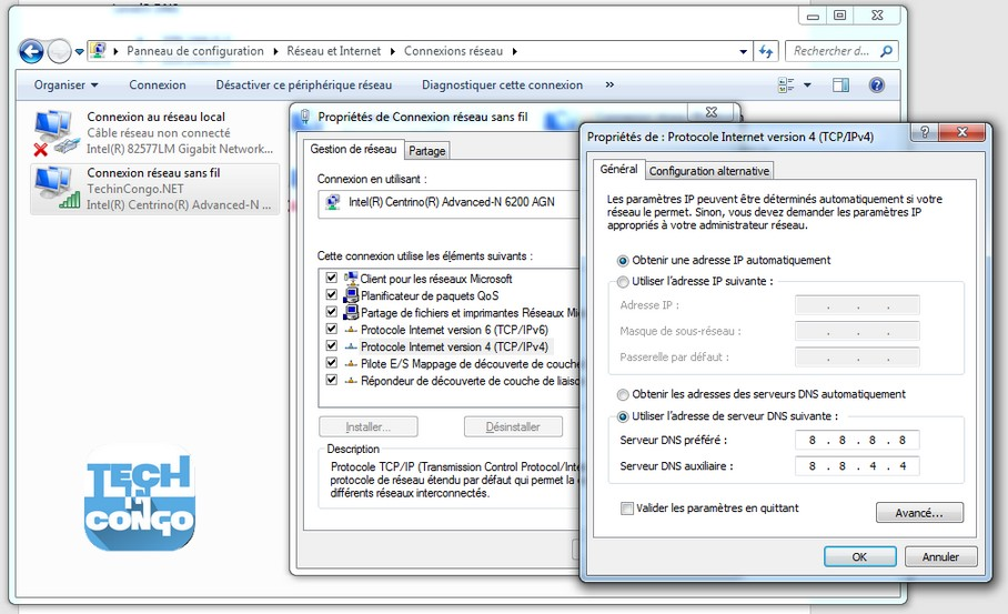 Changer DNS sur Windows Comment changer les serveurs DNS + Liste de DNS les plus rapides
