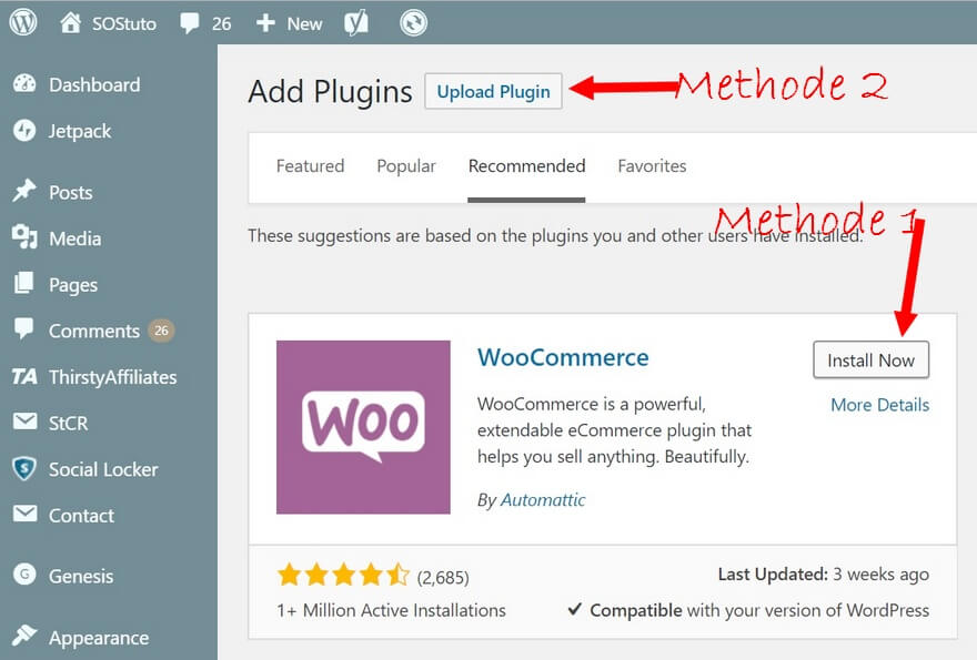 Installer Plugin Wordpress 10 Meilleurs Plugins Wordpress indispensables en 2019 - Les extensions que j'utilise sur SOStuto.com