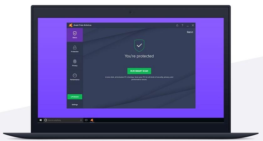 Avast Antivirus Gratuit Les 5 Meilleurs Antivirus Gratuits pour Windows et Mac - Comparatif 2019