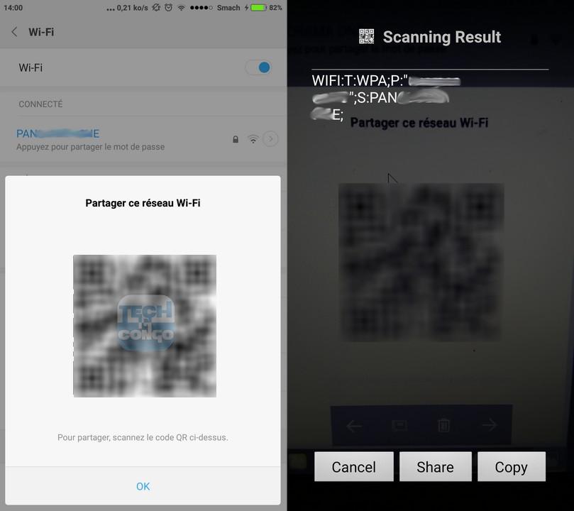 cle WiFi en Code QR Comment partager son réseau WiFi avec un Code QR sur Android & iPhone