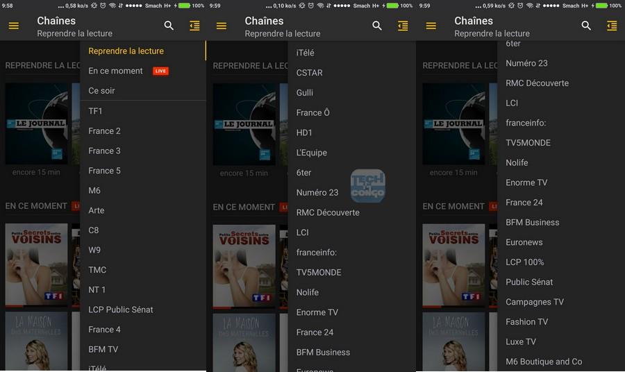 application tv pour android gratuit