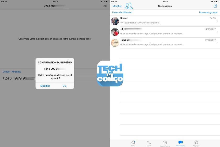 WhatsApp sur iPad Comment Installer WhatsApp sur iPad sans Téléphone ni PC