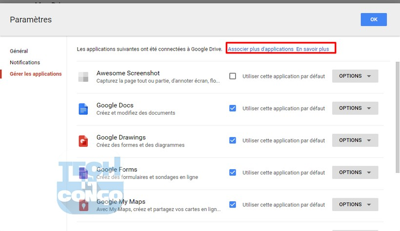Ajouter applications Google Drive Comment installer et utiliser des applications dans Google Drive
