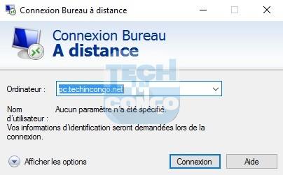 Bureau a distance Liste des commandes « exécuter » (Run) utiles pour Windows 10 / 8 /7