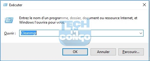 Cleanmgr Liste des commandes Windows Run (Executer) utiles sur Windows