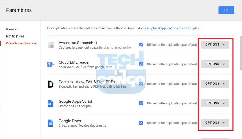 Gerer les applications Drive Comment installer et utiliser des applications dans Google Drive