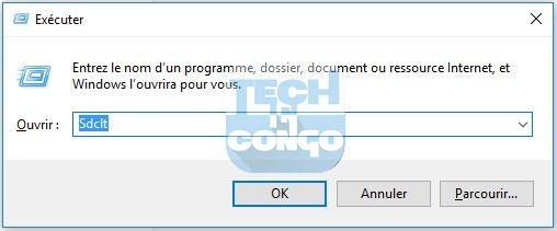 Sdclt Liste des commandes Windows Run (Executer) utiles sur Windows