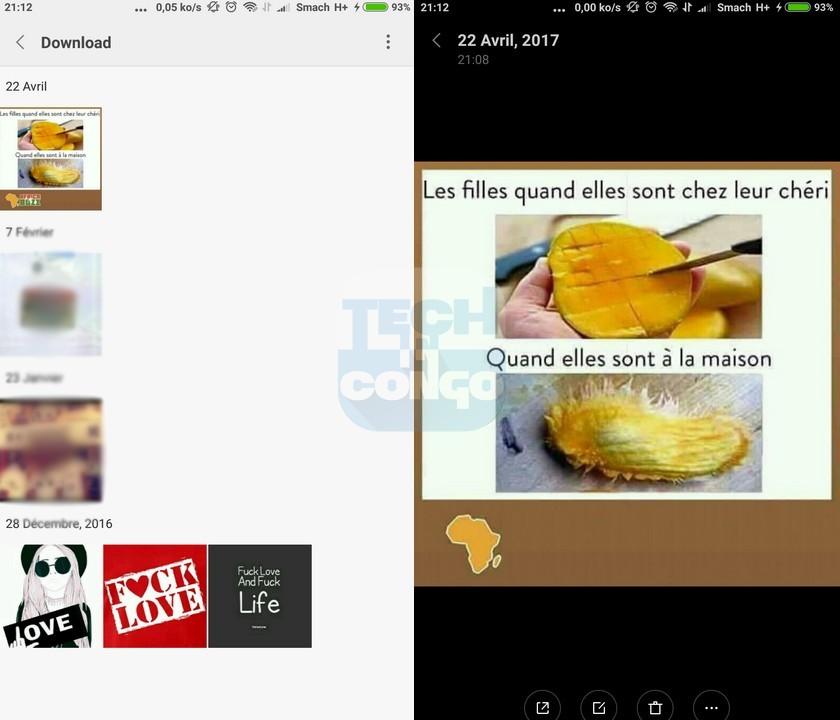 Statut enregistrer dans Galerie Comment télécharger les statuts WhatsApp dans votre galerie Android