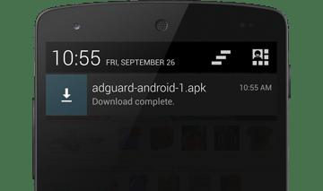 telecharger adguard Comment supprimer les pub sur Android - 5 bloqueur de pub Android gratuits