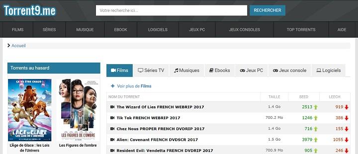Torrent9 Top 10 des meilleurs sites Torrents français pour télécharger des films & séries
