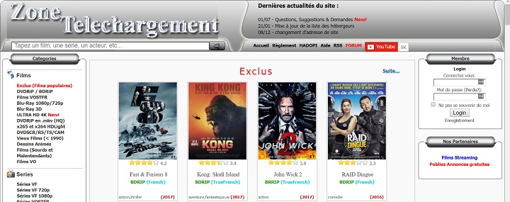 10 Meilleurs Sites Torrents Francais Pour Telecharger Des Films Series