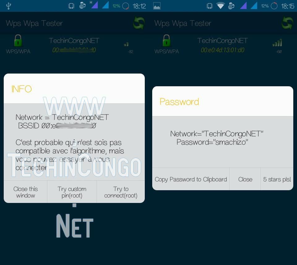 WPS WPA Tester Top 10 de meilleures applications de piratage pour Android (Edition 2018)