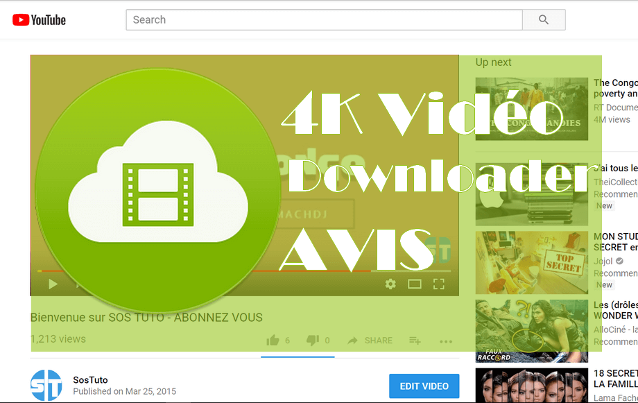 4K Video Downloader Avis sur 4K Vidéo Downloader : La meilleure alternative à TubeMate sur PC ?