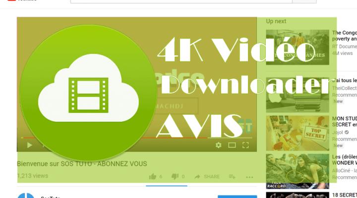 4K Video Downloader Avis sur 4K Vidéo Downloader : La meilleure alternative à TubeMate sur PC?