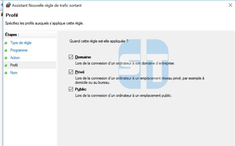 Regles de blocage de Firefox Comment empêcher un programme d'accéder à internet sans logiciel