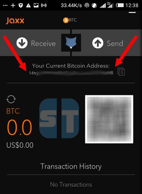 Adresse Bitcoin Jaxx Comment créer un compte Bitcoin «portemonnaie bitcoingratuit »
