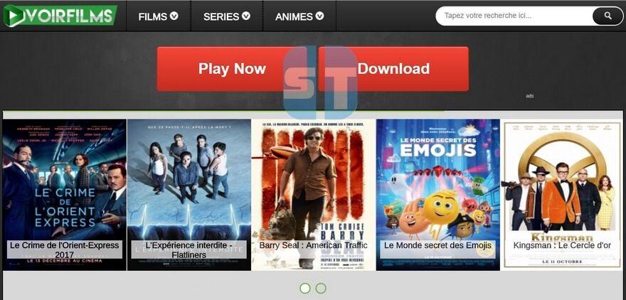 VoirFilms Les Sites de Streaming Gratuits pour voir les Films et Séries en Français